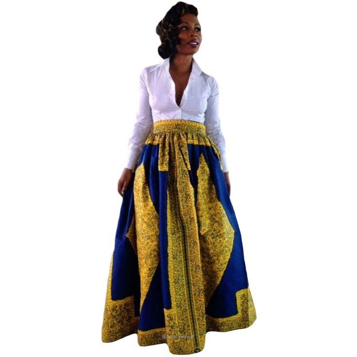African Print Long Skirt Ankara Dashiki High Waist A Line Maxi Umbrella Skirt   -      -   Skirts, www.looklovelust.com   -   3  https://www.looklovelust.com/products/african-print-long-skirt-ankara-dashiki-high-waist-a-line-maxi-umbrella-skirt
