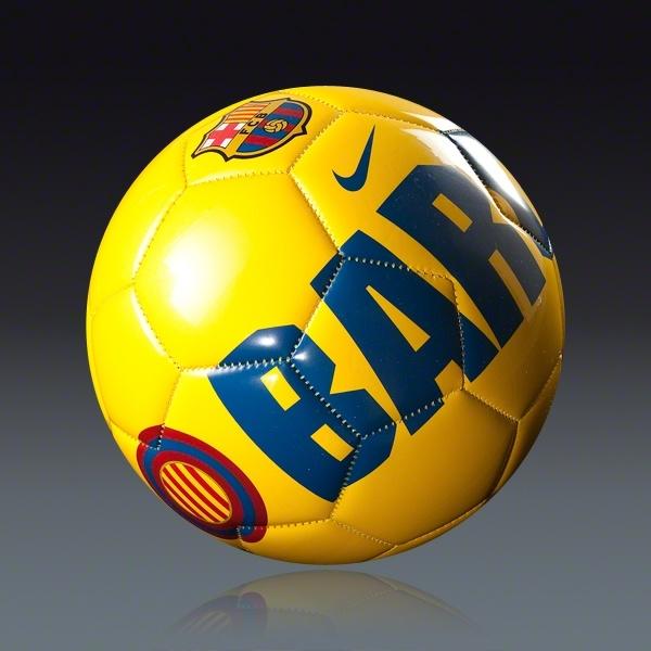 Nike Barcelona Supporter Ball    SOCCER.COM