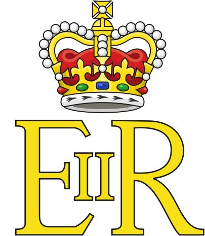 Royal Cypher of Queen Elizabeth II - Monogramme royal