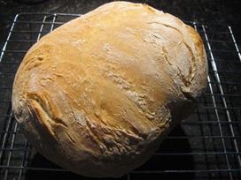 Broodblog van Marijke's Media Keuken: Brood (Pane Toscane) van Fattoria La Vialla