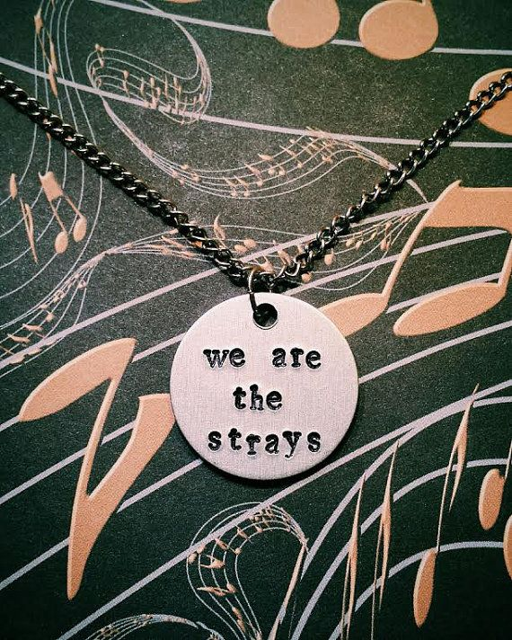 Sleeping With Sirens We Are the Strays Hand by YellowHippoDesigns