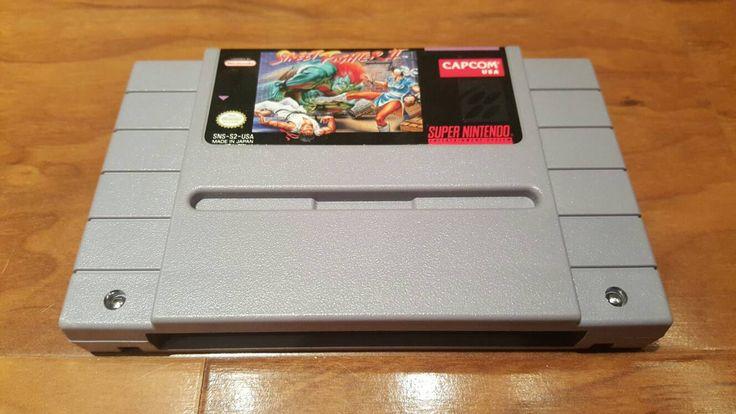 Street Fighter II Super nintendo snes video game, Street Fighter 2, snes Street Fighter - pinned by pin4etsy.com