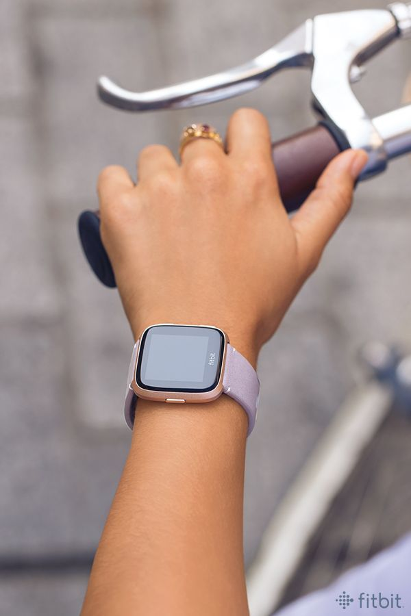 Go Pretty In Pastels With Fitbit Versa In A Lavender