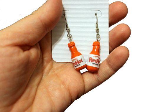 Franks Red Hot earrings