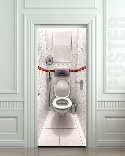 65 best images about acheter on pinterest coins for Poster porte wc