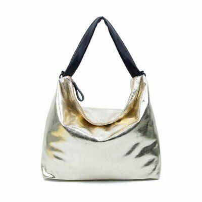 DAMEN TASCHE METALLIC Henkeltasche Handtasche Schultertasche CROSS-OVER SHOPPER:… – Italyshop24.com