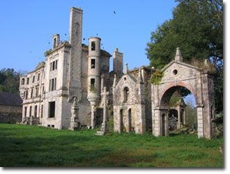 The wonderful Chateau du Guerrand, Plouégat-Guerrand, Locquirec, Brittany - a site of history, heritage and legends!