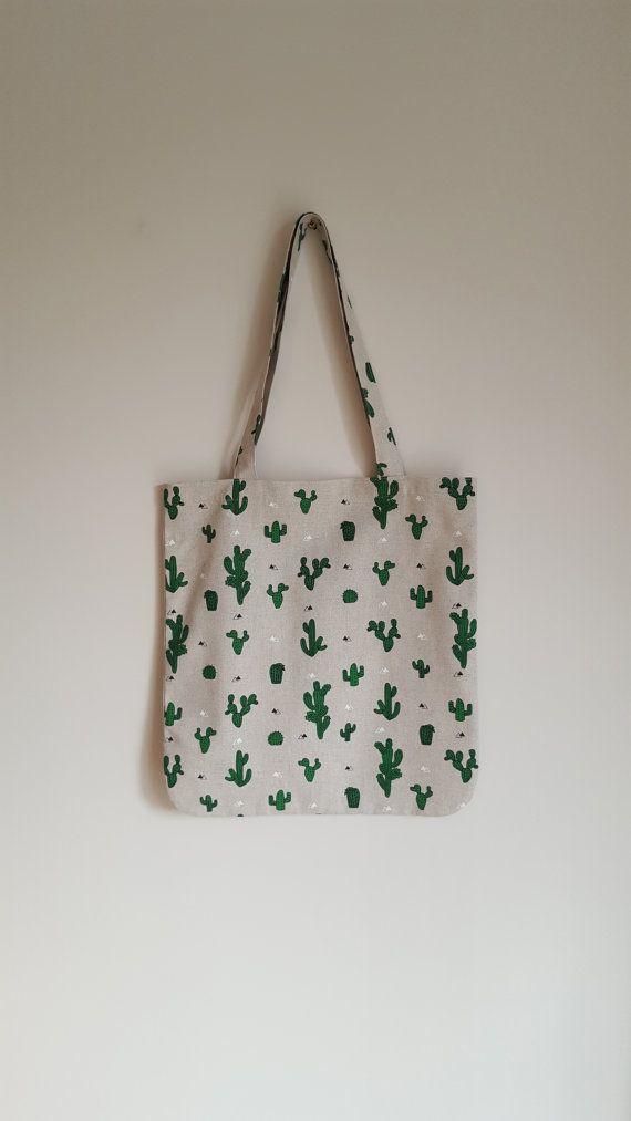 Cactus Tote Bag https://www.etsy.com/uk/listing/399288979/cactus-tote-bag-shopping-bag-quirky-tote