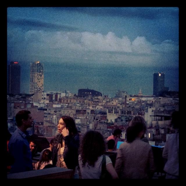 Barcelona hotel roof party by mrmrsgourmet.com | Roof party - Feesten op het dak | Pinterest | Barcelona hotels