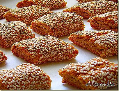 Παξιμαδάκια με σουσάμι - Biscotti with sesame @magyreuontas.blogspot.gr