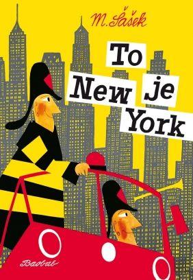 To je New York | české ilustrované knihy pro děti | Baobab Books