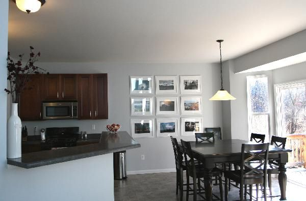 Gray kitchen wall paint color Decorating Ideas – Gray Wall Kitchen