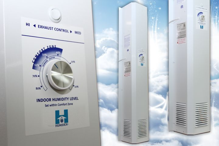 Take care of your home with a Humidex dehumidifier. Maintain proper home humidity using a Humidex dehumidifier.