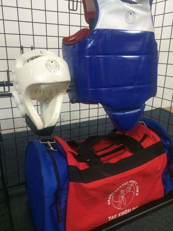 Tae Kwon Do Sparring Gear and Bag