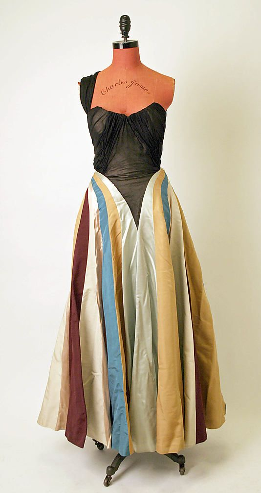 Dress, Evening - Charles James