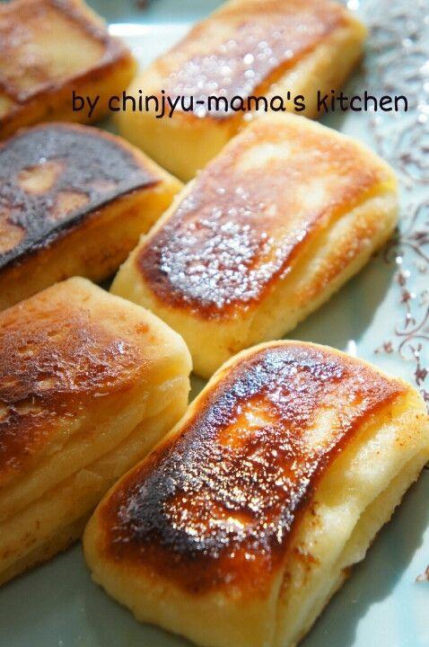 捏ねない!フライパンで簡単クイニーアマン風デニッシュ|珍獣ママ ... ひと口噛むと、あま~いバターがじゅわ~~~ トップはカリカリッ! まずは焼き立てを食べて欲しい!