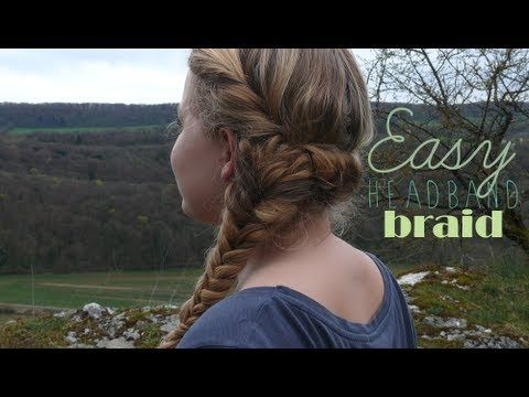 88 best blogueuses images on pinterest long hair belle - Coiffure avec headband ...