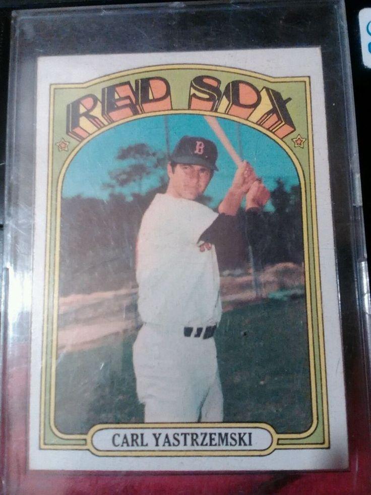 1972 topps carl yastrzemski 37 baseball card
