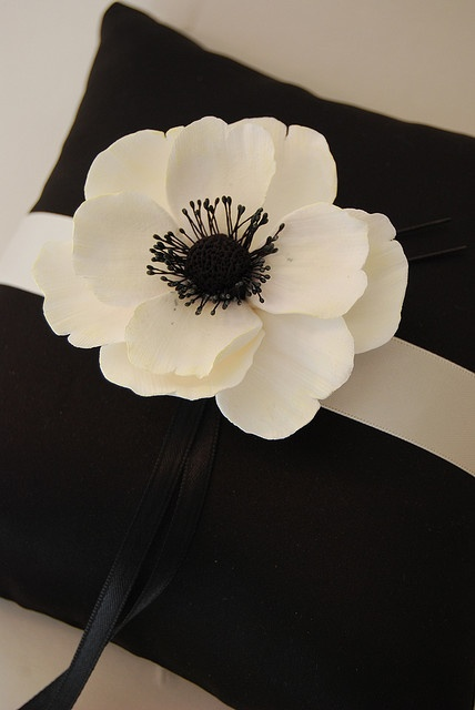 Love this for my ring bearer pillow!