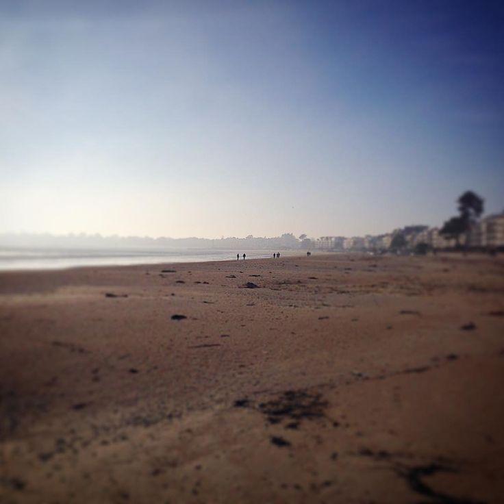 #soleil #brume #hiver #plage #océan