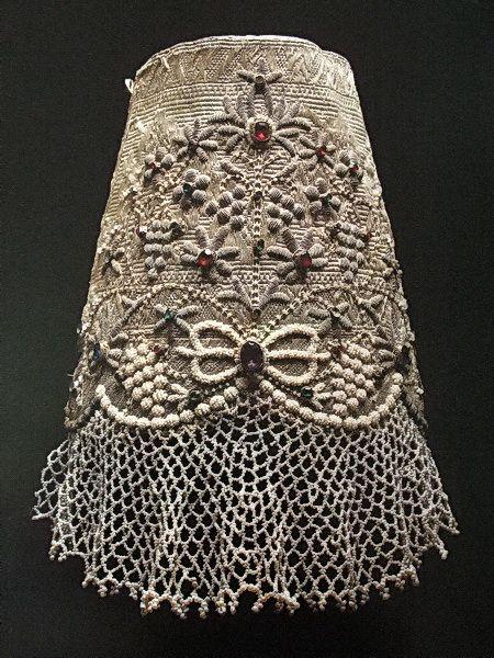 "Maiden headdress - ""bandage"". Nizhny Novgorod province. The beginning of the XIX century"