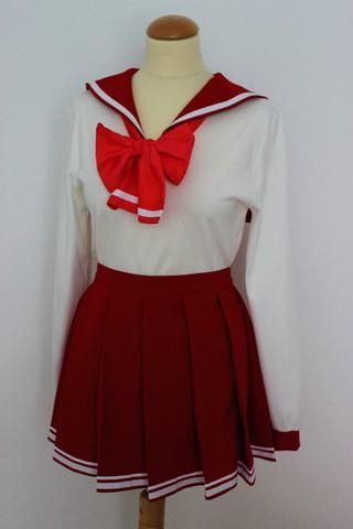 To heart 2 Cosplay Japanese Sexy School Girl Students Sailor Uniform Anime Costume