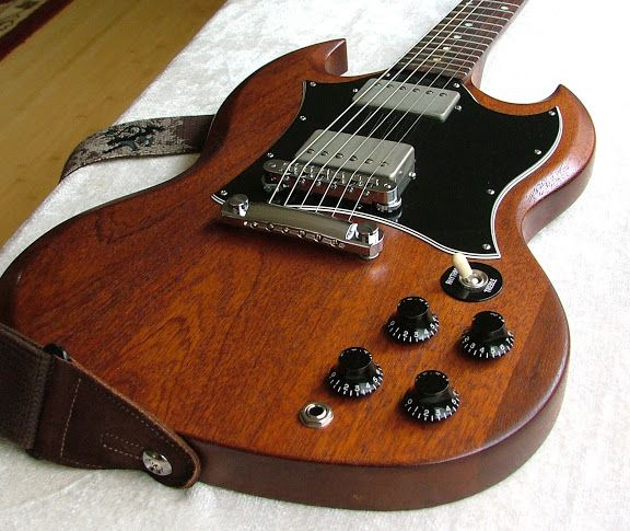 Gibson SG Faded Worn Brown : Love these!