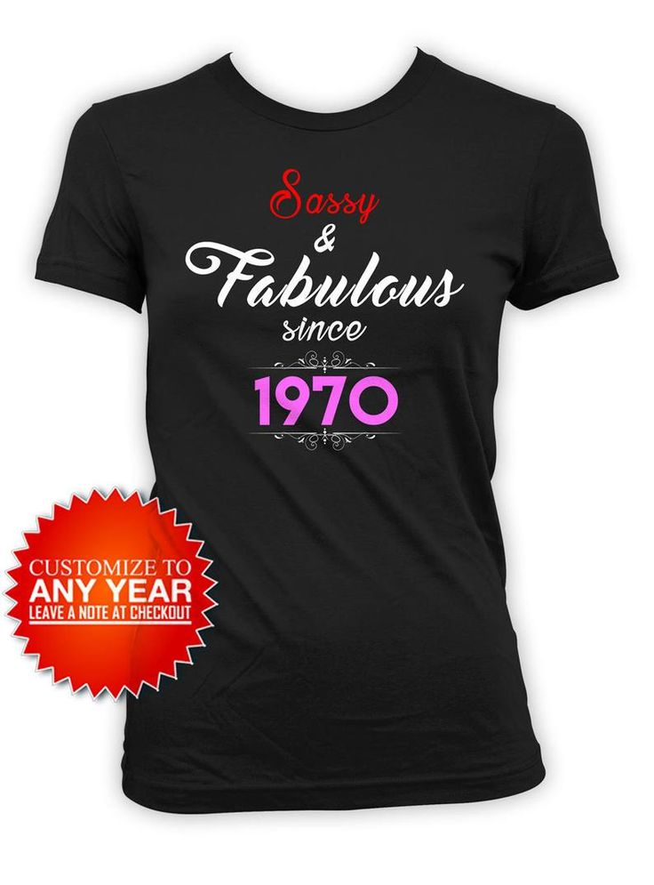 50th birthday gift idea for women custom birthday shirt