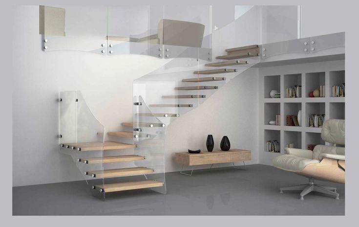 Escalier, escalier colimaçon, rampe escalier, monte escalier, escalier quart…