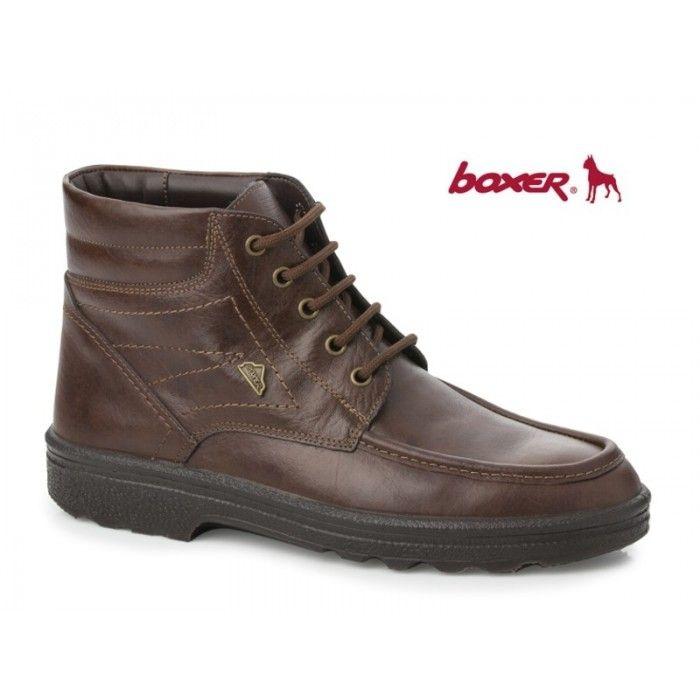 Boxer 01533 18-114 Καφέ μποτάκια