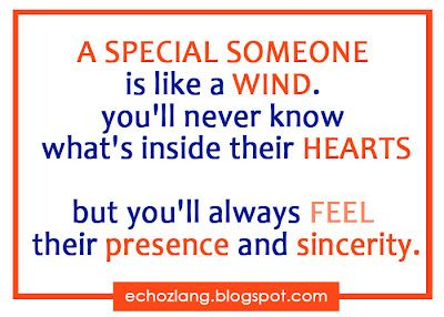 sincerity quotes   ... their presence and sincerity   Echoz Lang - Tagalog Quotes Collection