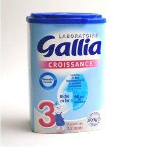 Sữa bột Gallia số 3 Pháp 800g http://www.bobbymart.vn/san-pham/636/sua-botgallia-so-3-phap-800g.html