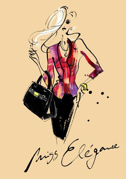 Margarete Gockel illustration #TrafficNYC