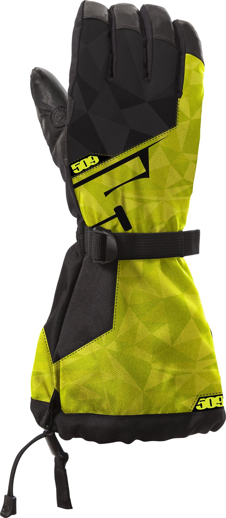 509 Backcountry Snowmobile Gloves Lime