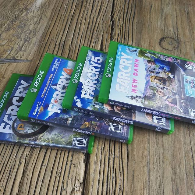 The Various Far Cry Titles Out On Xbox One Including The Latest New Dawn I M Missing The Physical Copy For Far Cry 3 Classic Edition Xbox One Gamer Tags Xbox