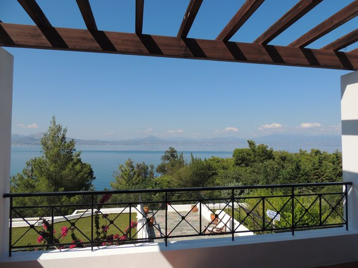 What a great view to welcome the day at Wyndham Loutraki Poseidon Resort!