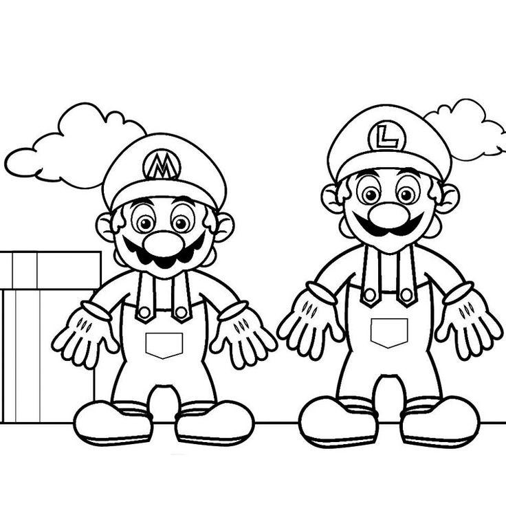 Coloriage Super Mario Galaxy 2 Coloriage, Coloriage