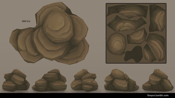3d Prop - Rock Formations, Bianca Tholen on ArtStation at https://www.artstation.com/artwork/3d-prop-rock-formations