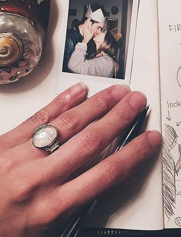 Duck Dynasty star Rebecca Robertson's opal engagement ring - Unique and Unusual Star Engagement Rings | People