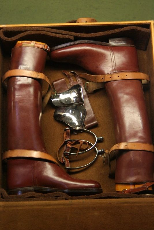 Louis Vuitton Vintage Riding Boots (via Pin by Mo Carlson on The Equestrian | Pinterest)