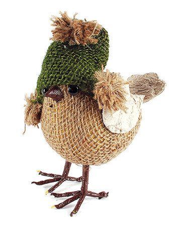 Love this Brown Bird Figurine on #zulily! #zulilyfinds