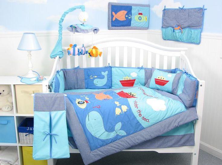 Best Under The Sea Nursery Nursery Ideas Pinterest Boys Baby Boy And Baby Boy Bedding 400 x 300