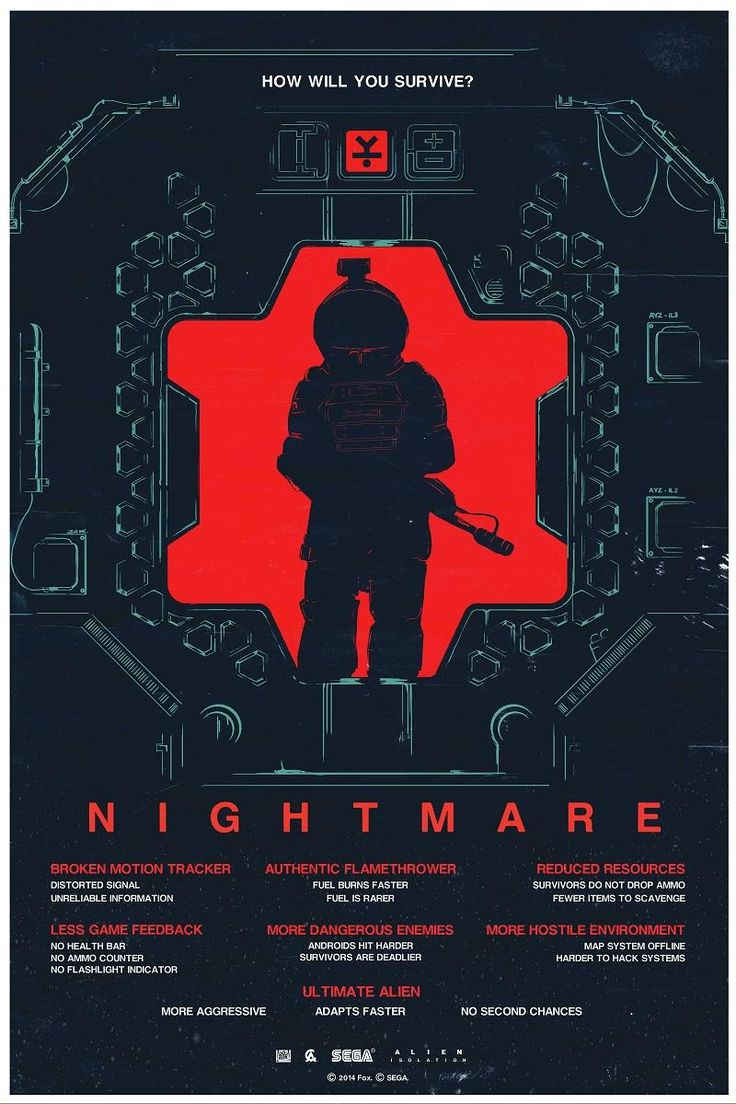 Alien: Isolation Nightmare Mode