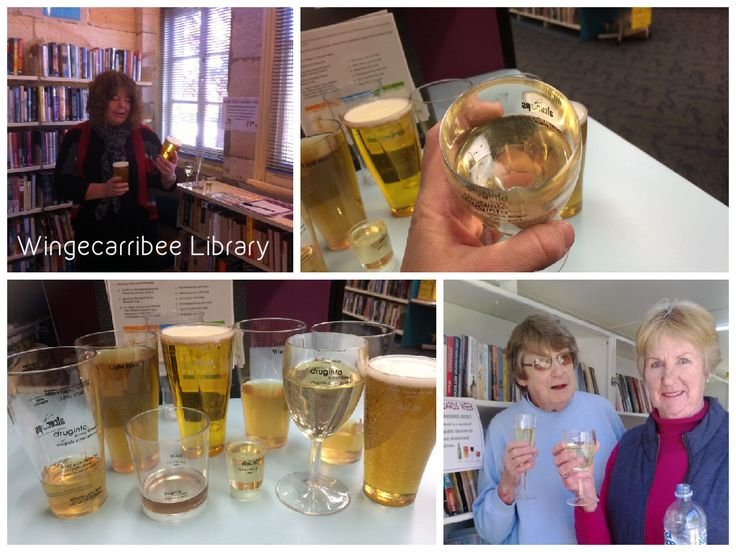 A week of standard drink activities at Wingecarribee Libraries #knowyourstandards