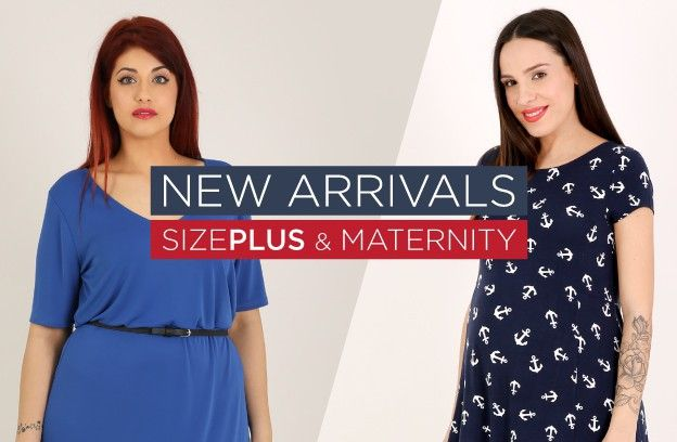New arrivals {e}xclusive Spring 2016 : SizePlus & Maternity