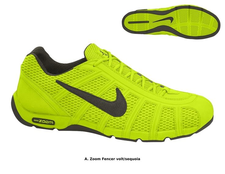 d3229ef6b02 asics fencing shoes  the 2012 volt color scheme for the nike fencing shoe  fencing products pinterest fencing shoes