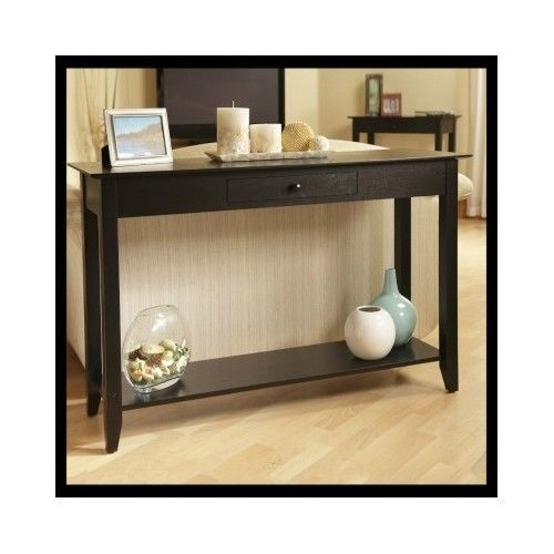 Wood-Console-Table-Sofa-Furniture-Display-Hallway-Storage-Drawer-Shelf-TV-Stand