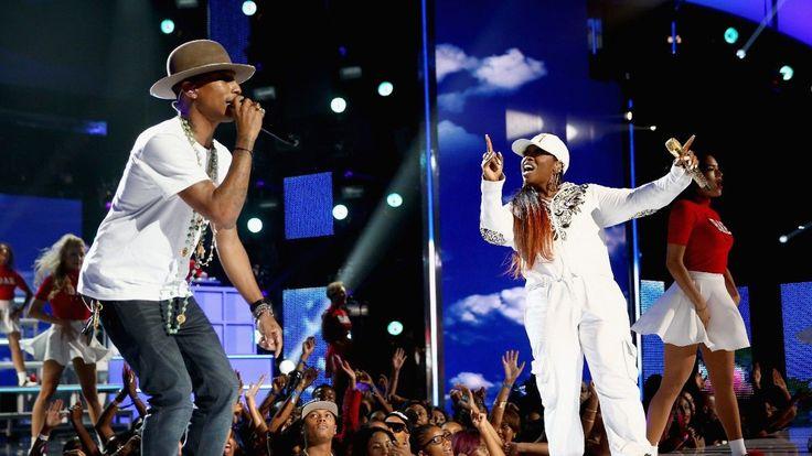 Pharrell Takes Us to BaeUniversity With Missy Elliott - 2014 BET Awards Performances
