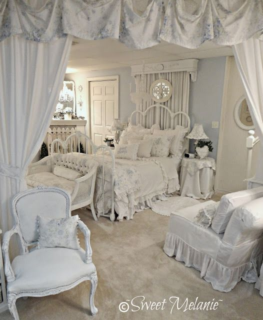white and the palest blue shabby chic pinterest. Black Bedroom Furniture Sets. Home Design Ideas