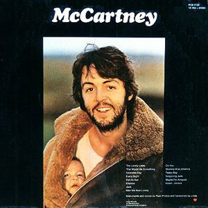 Paul McCartney, Album cover